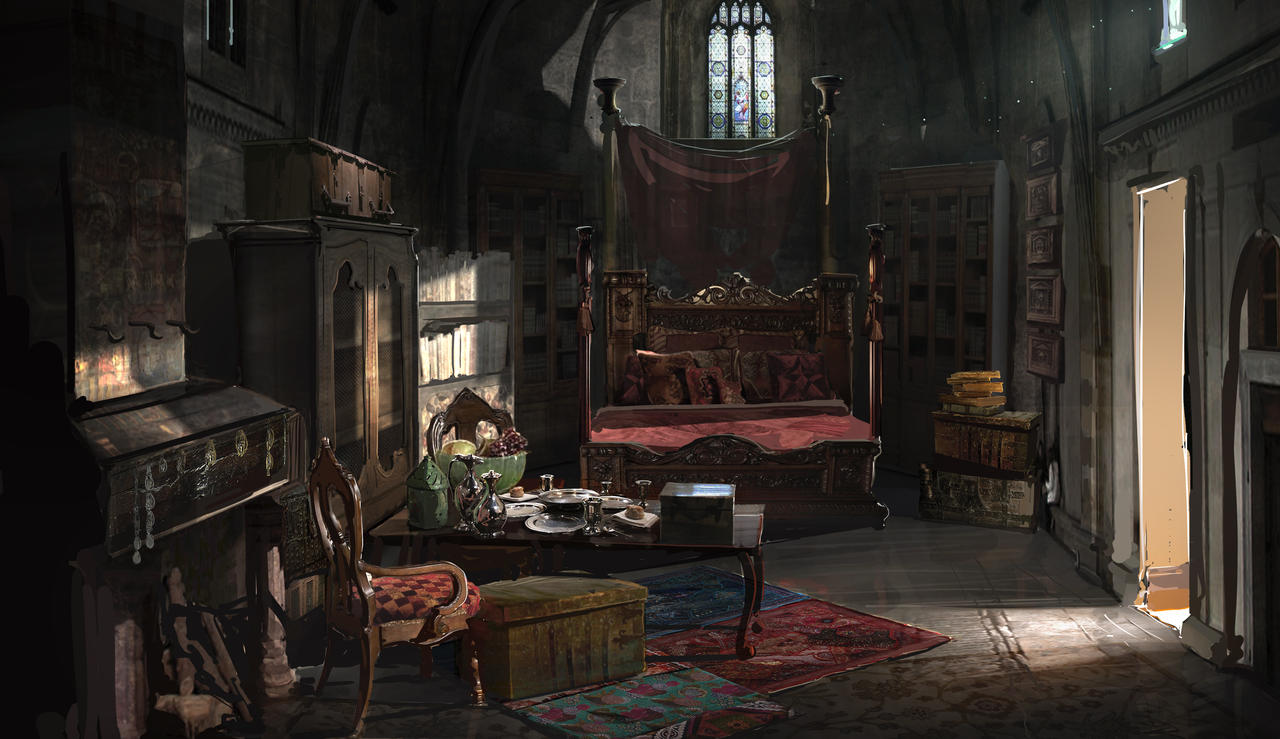 Renaissance Room By Rhysgriffiths On Deviantart