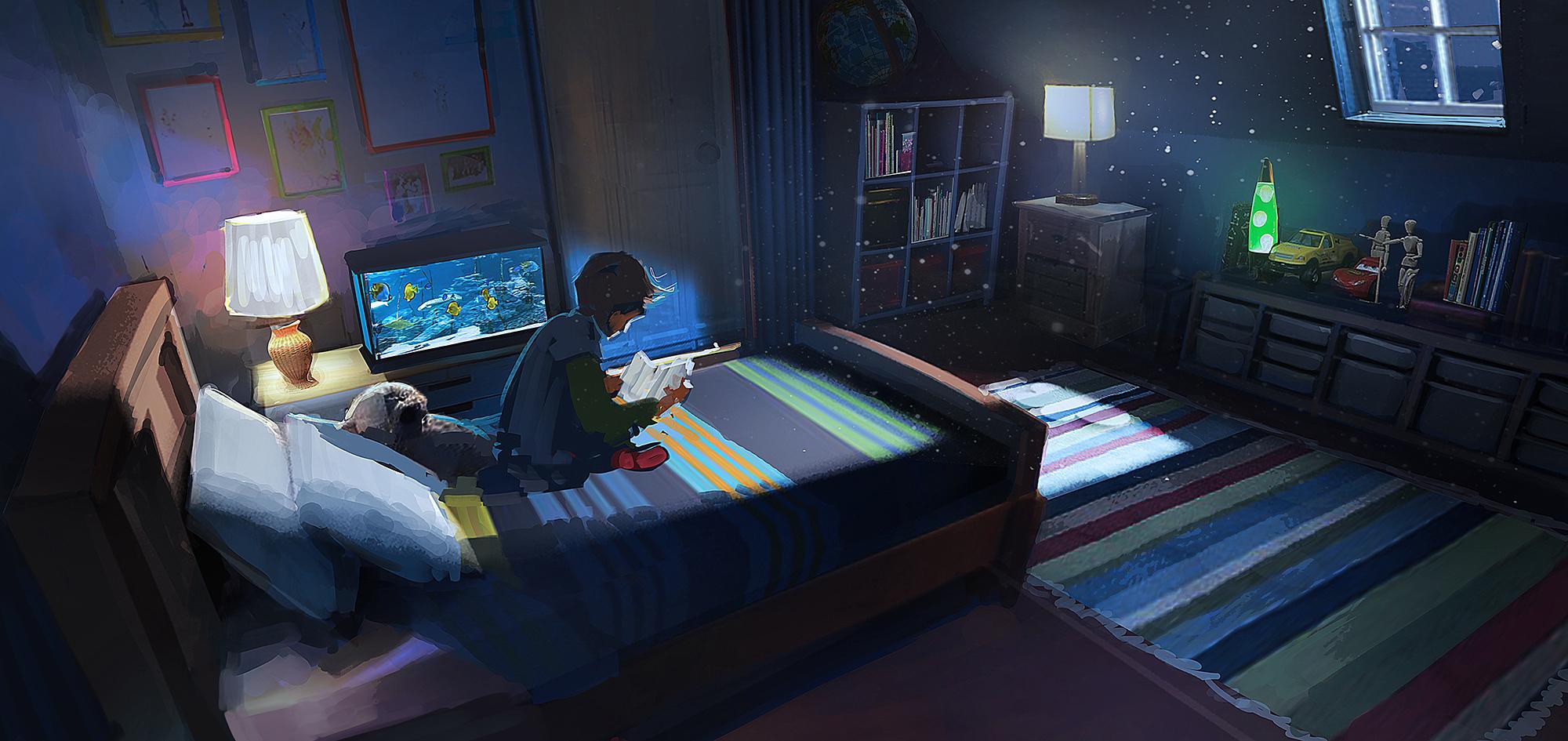 Night Room by RhysGriffiths