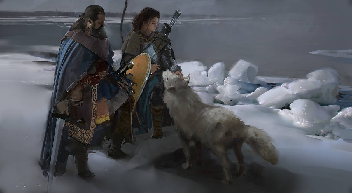 Vikings by RhysGriffiths
