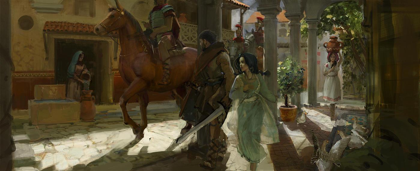 Escape Through the Insula by RhysGriffiths