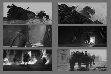 Western Compositions by RhysGriffiths