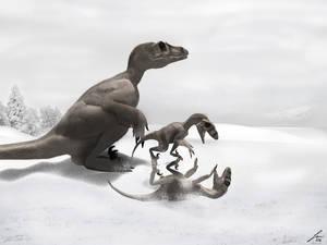 Theropod winter