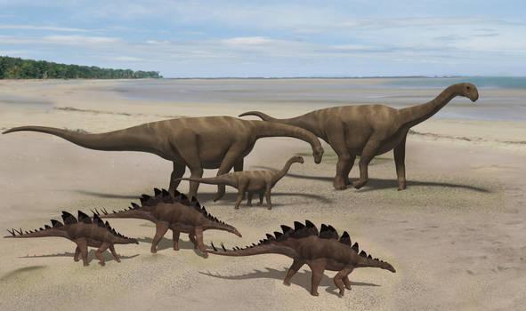 Upper Jurassic Iberian scene