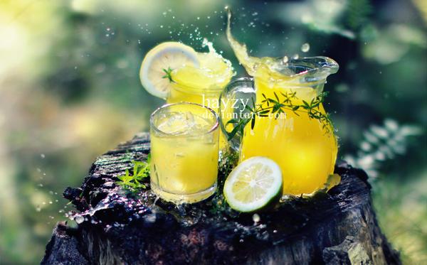 lemonade splash by hayzy
