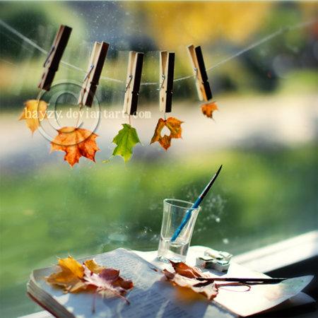 Autumn at work by hayzy