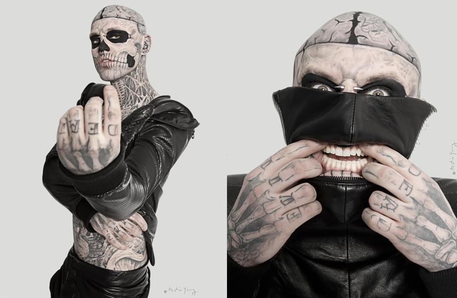 Zombie Boy Rico Genest for Stylenoir by stylenoir