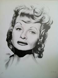 Lucille Ball by Sarah-T0nin