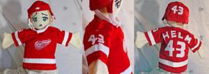 Darren Helm Puppet by StubbornCupcake