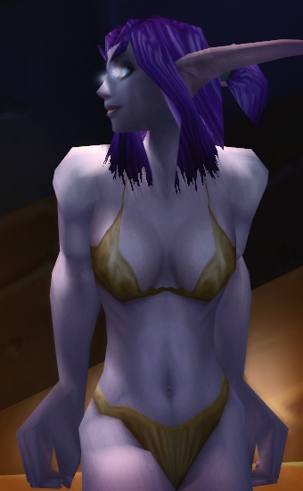 Night elf dance