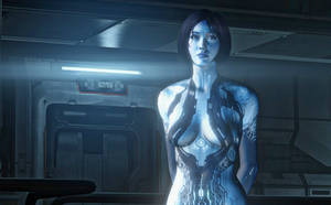 Cortana - Halo 4 - Model 10 by solarnova1101