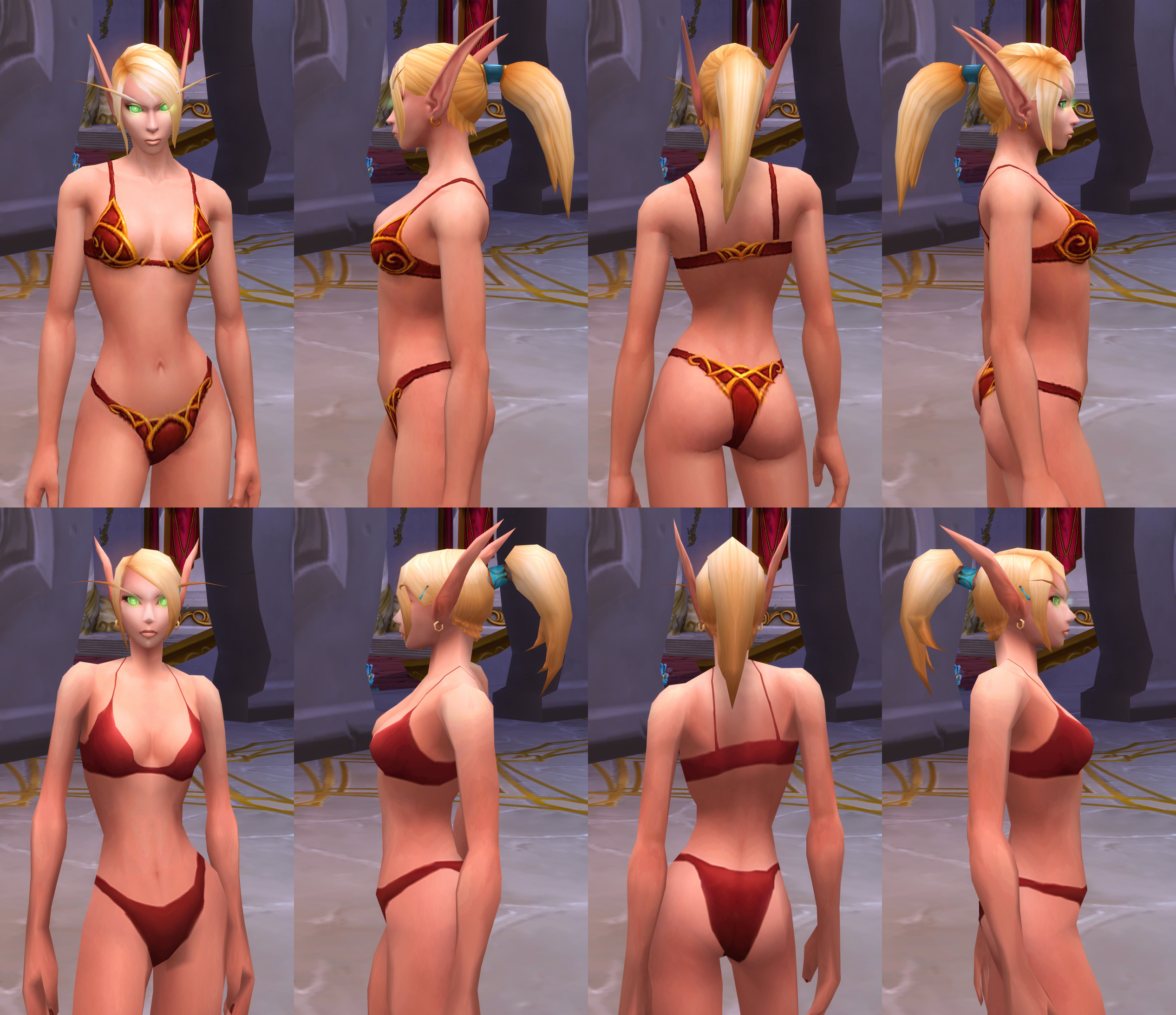 Blood elf butts nackt video