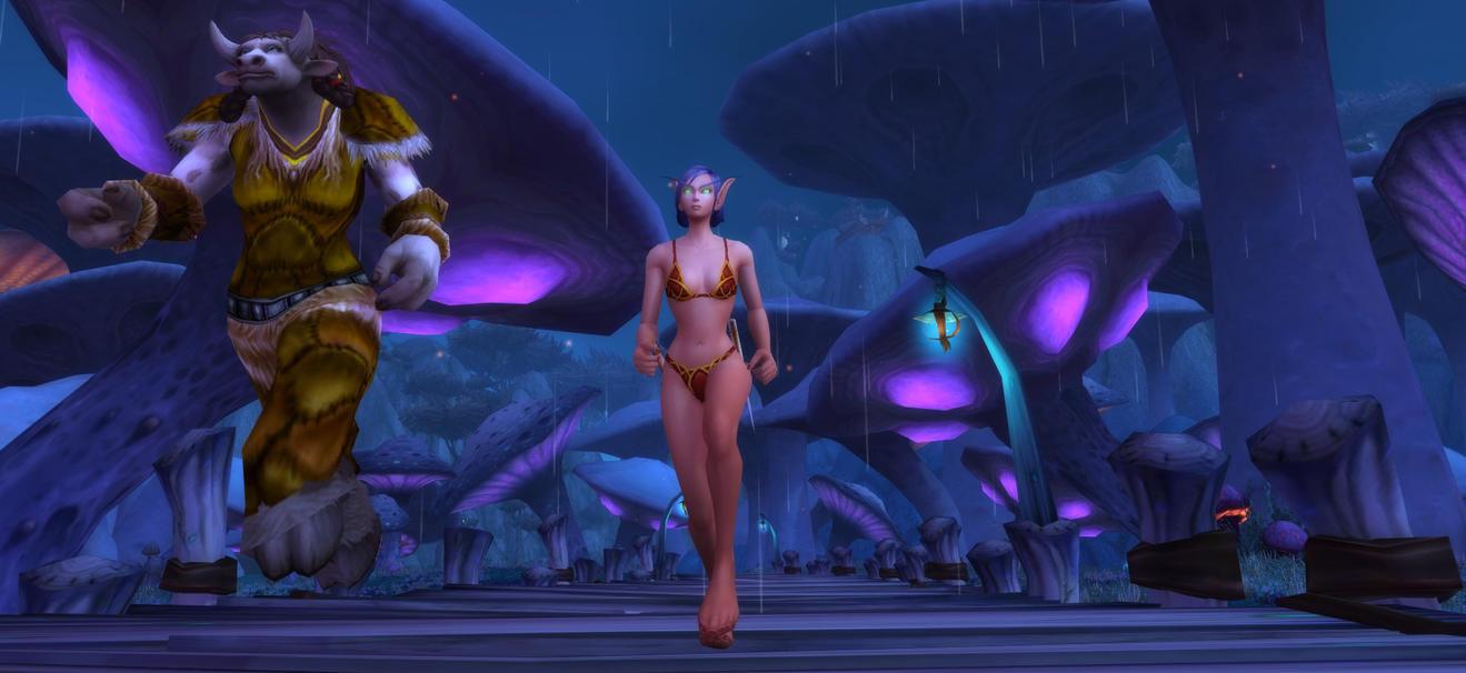 zangarmarsh escort quest