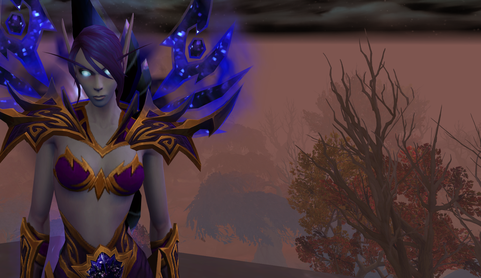 Void Elf Female 27 Drustvar By Solarnova1101 On Deviantart Their cosmetic nature means they are transmoggable over any armor type, from plate to cloth. void elf female 27 drustvar by