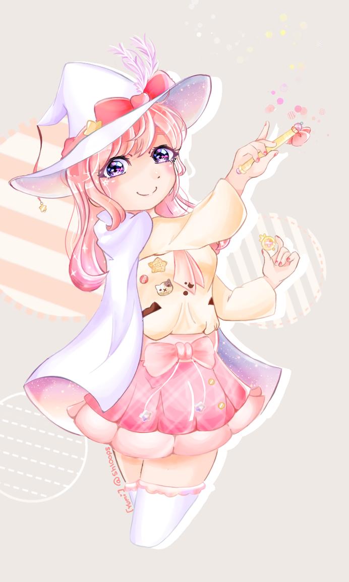 Magical (Yumi-OC) by NozoTojo