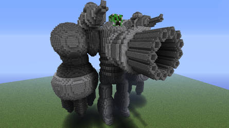 giant creeper juggernaut by 321kye