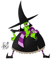 Witchy Woman by theflamingalberto