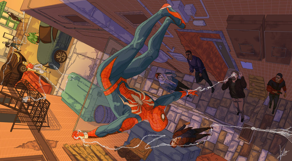 Spider-Man PS4 by livousart