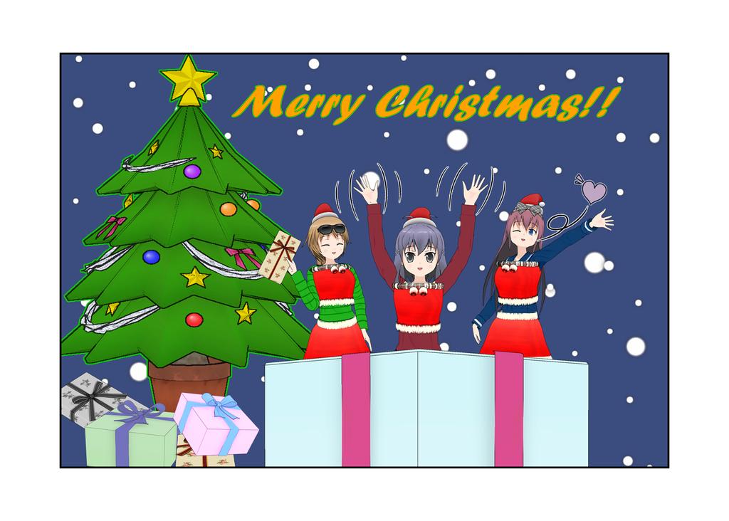 Merry Christmas!! by Vonhunter