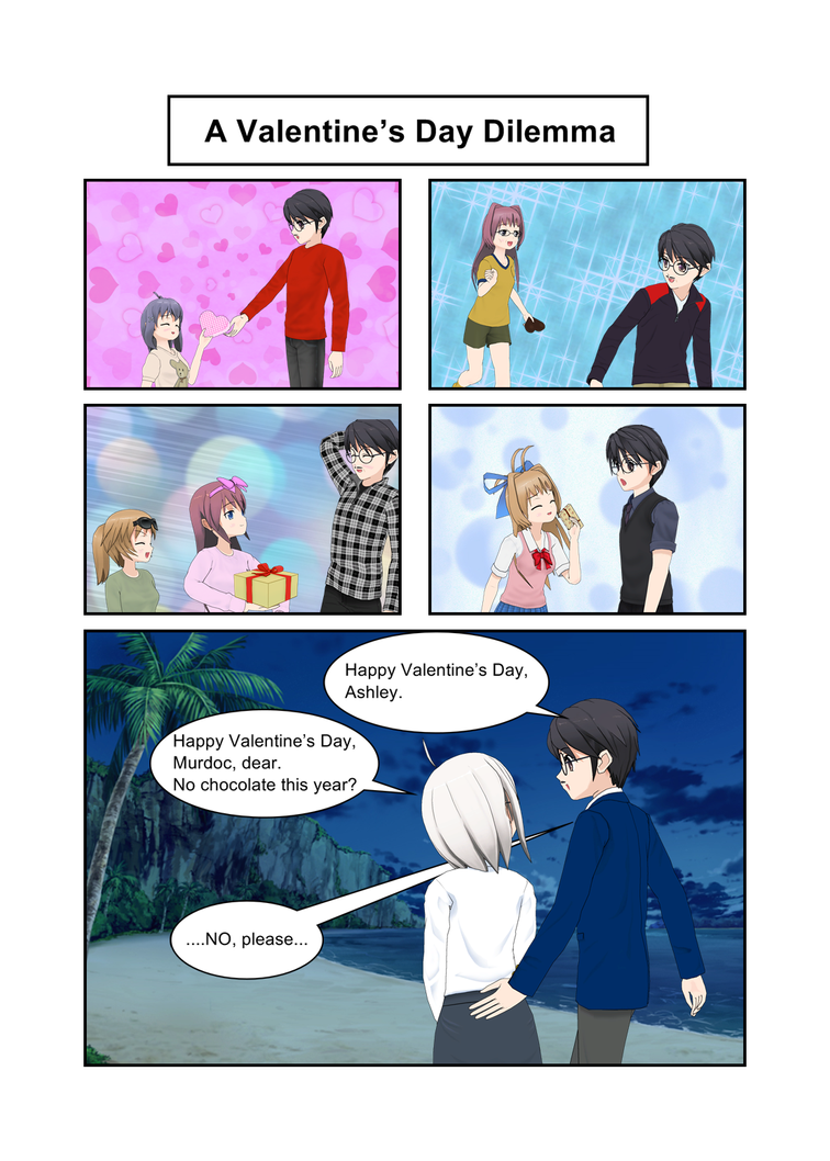 A Valentine's Day Dilemma by Vonhunter