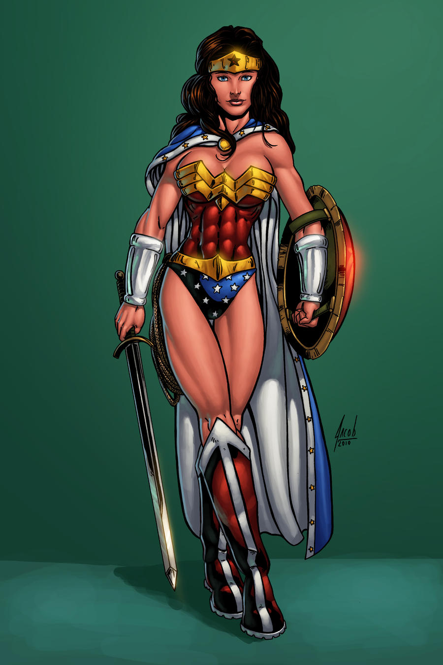Wonder Woman by ConfuciusRetaliation