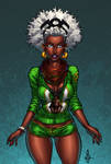 Afrocentric Storm 7: Curly Afro