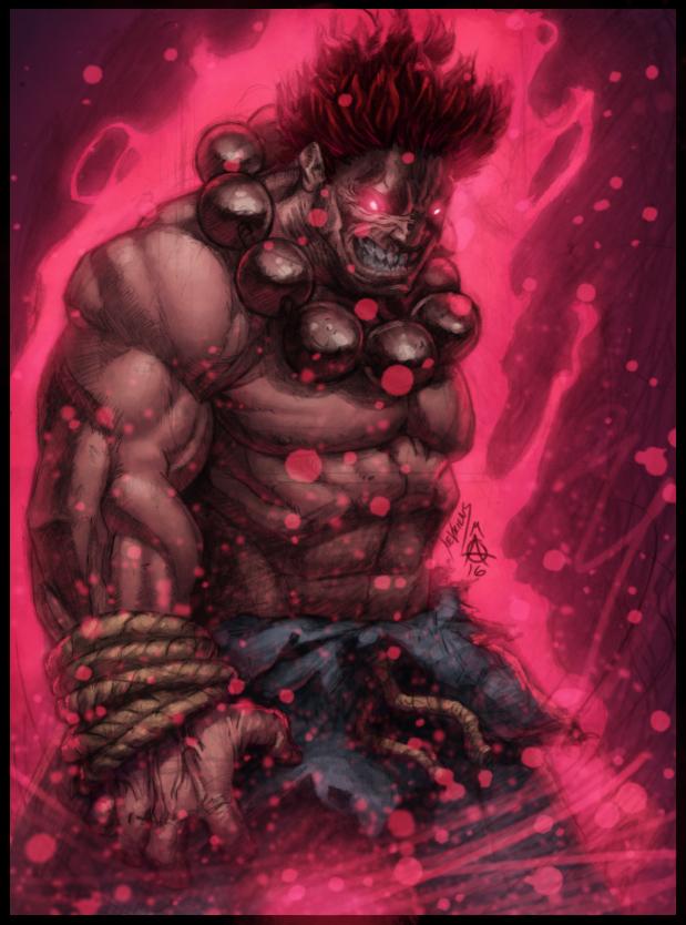 The Dark Hadou V2 by ConfuciusRetaliation