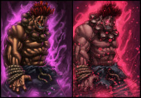 The Dark Hadou Comparison