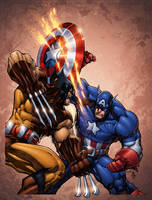 Captain America Annual recreation by ConfuciusRetaliation
