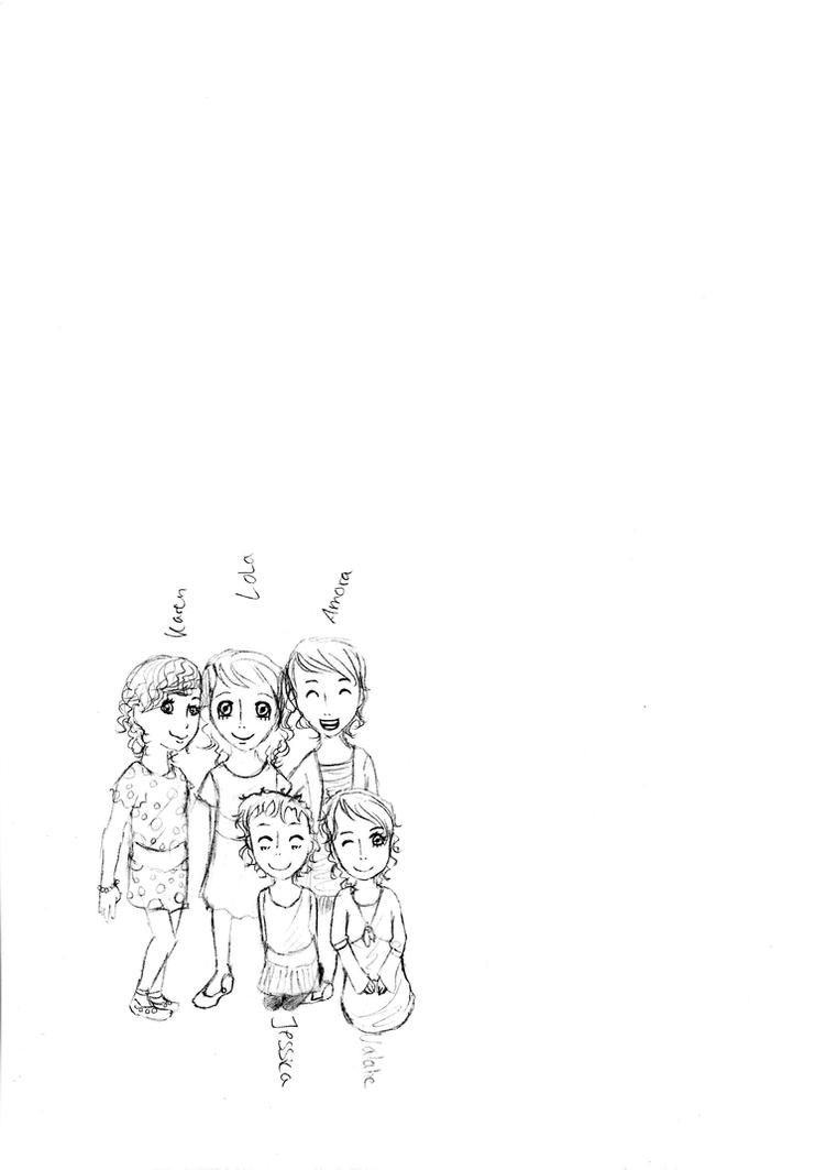 Karen,Lola,Amora,Jessica,Natalie by Alexis-Croft111