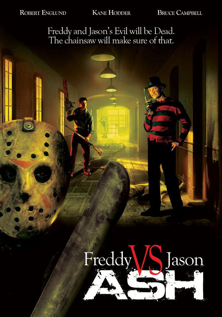 DeviantArt: More Like Freddy Vs Jason Vs Ash by jason-the-13th