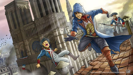 Assassin's Creed Unity fan art by Otisso