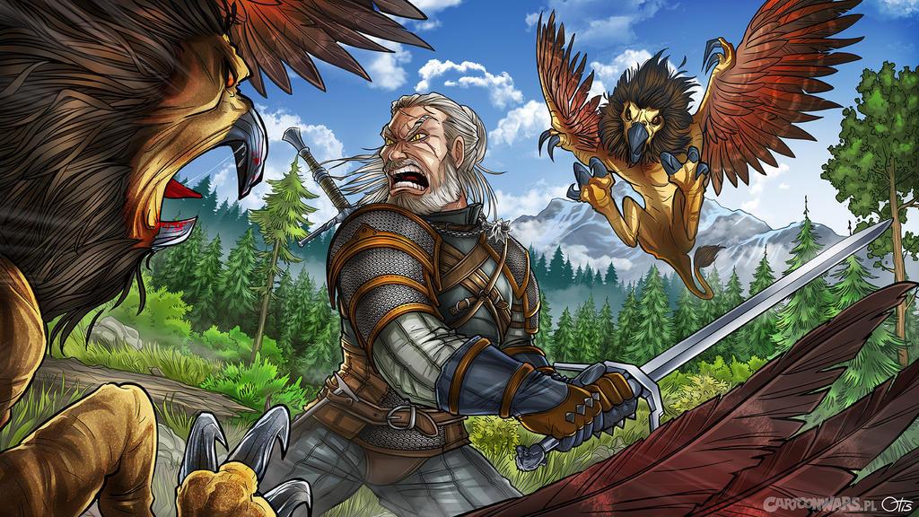Witcher: Wild Hunt fan art