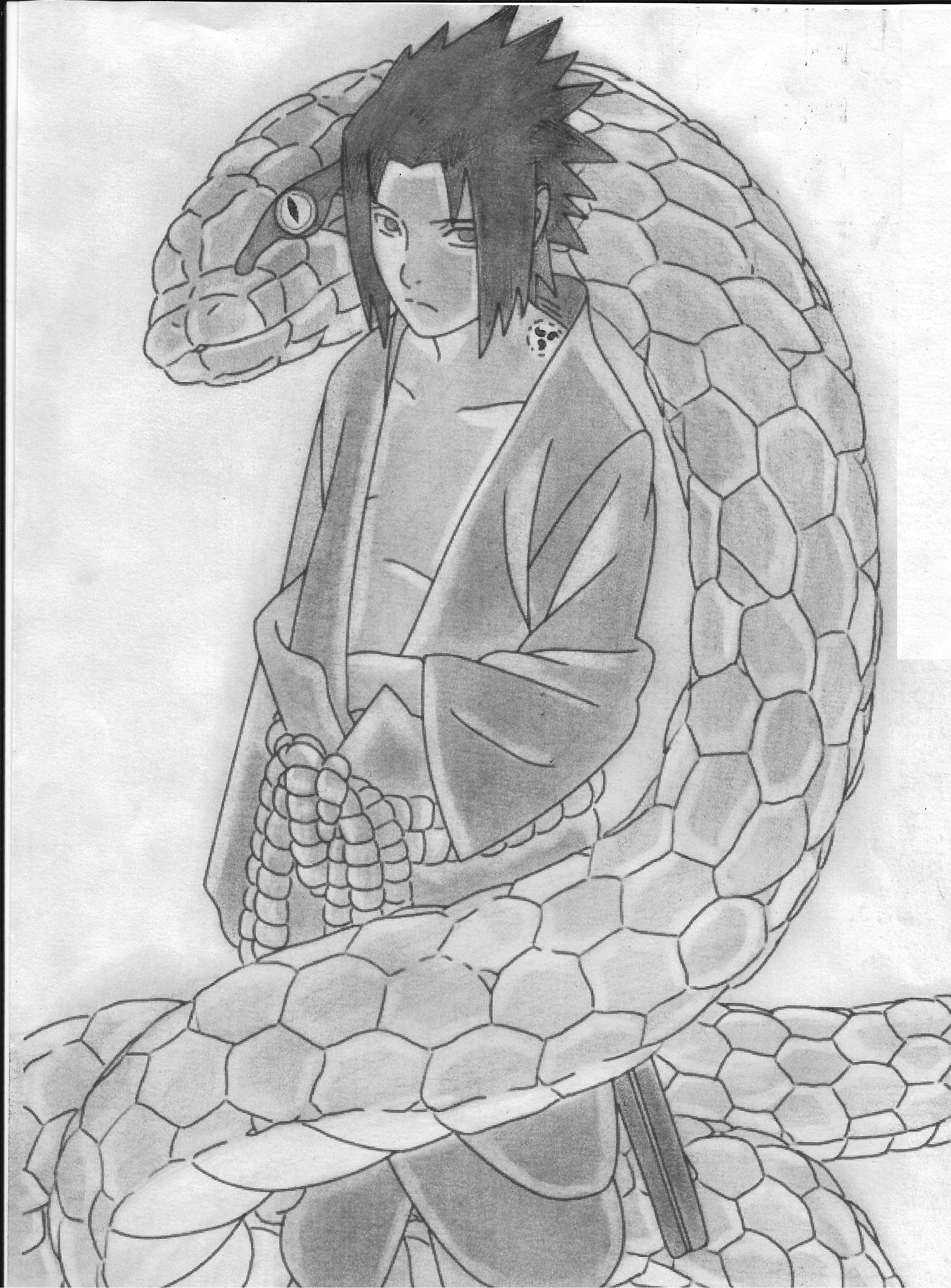 Sasuke Uchiha by ITACHIASSAN96