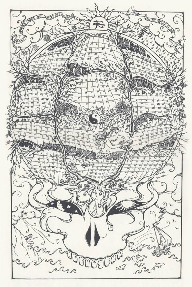 1985 Calendar.1985 Calendar By Baby Snakes On Deviantart