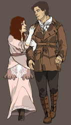 Commission 014 - Jack and Jezebel by ravenshield