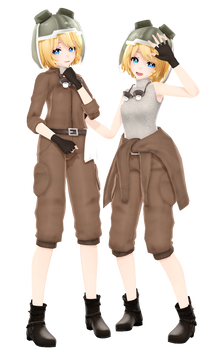 MMD Identity V // Mechanic by Kiri-ii