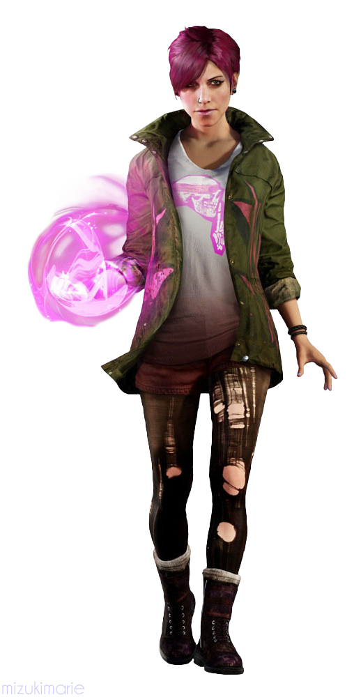 inFamous Second Son Fetch Render Cutout by mizukimarie