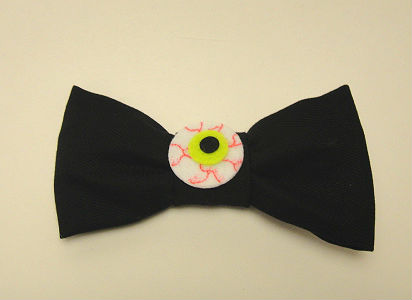 Another eyeball hair bow by Toxic-Zoli