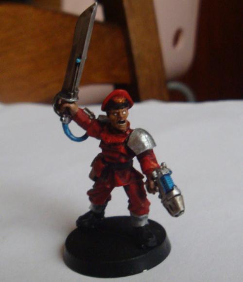 M.Bison warhammer by Littlecutter