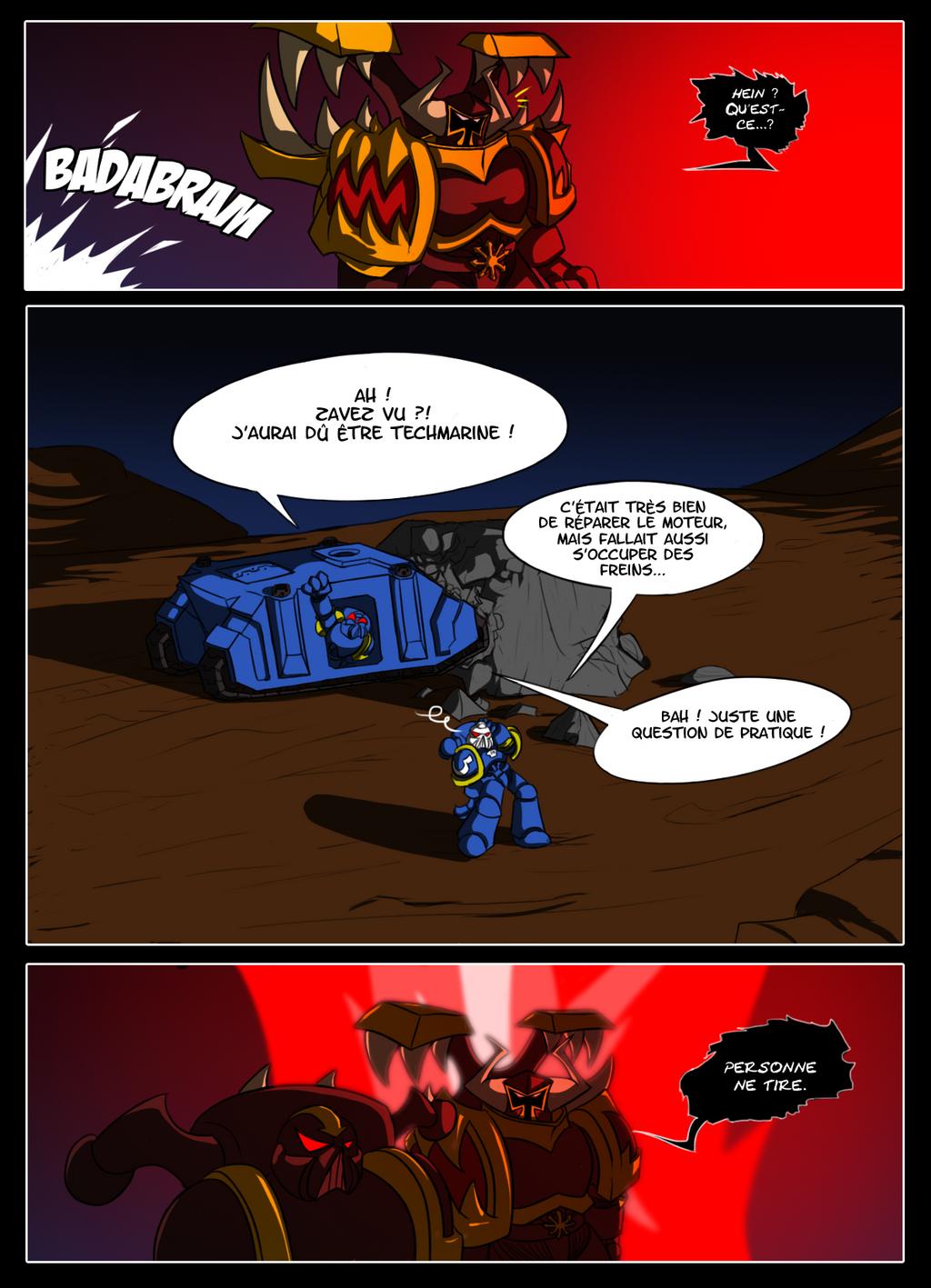 Bandes Dessinées de Warhammer 40,000 - Page 2 P38__color_by_littlecutter-d5rcczg