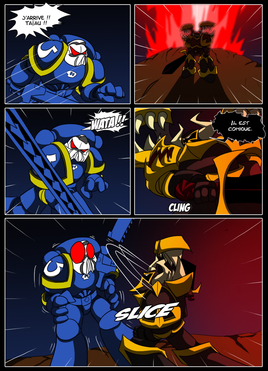 Bandes Dessinées de Warhammer 40,000 - Page 2 P40__color_by_littlecutter-d5tv6o4