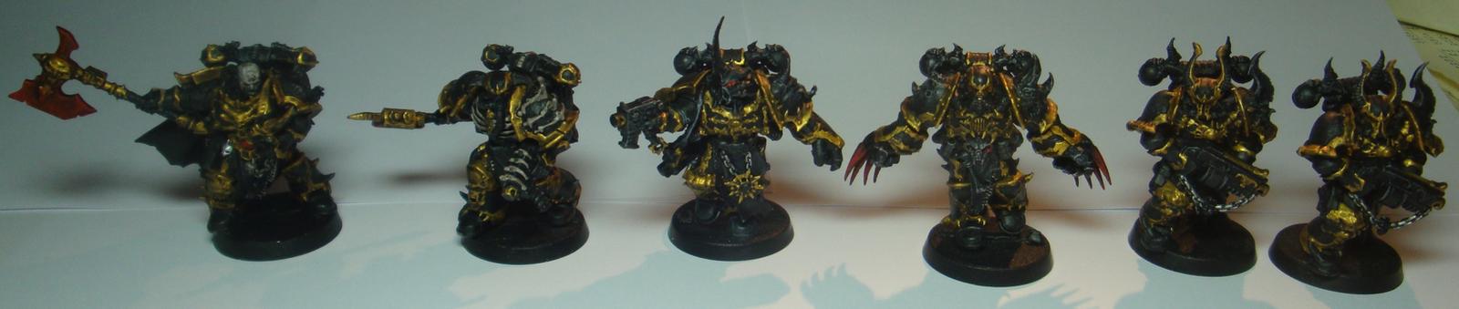 Black legion chosen ones by Littlecutter