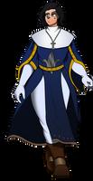 Armorless Battle Sister by Littlecutter