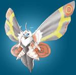 Anthropomorphic Mothra