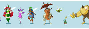 Rayman characters