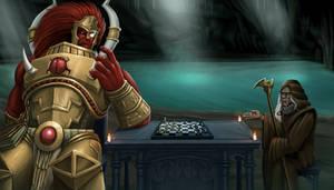Magnus and Malcador