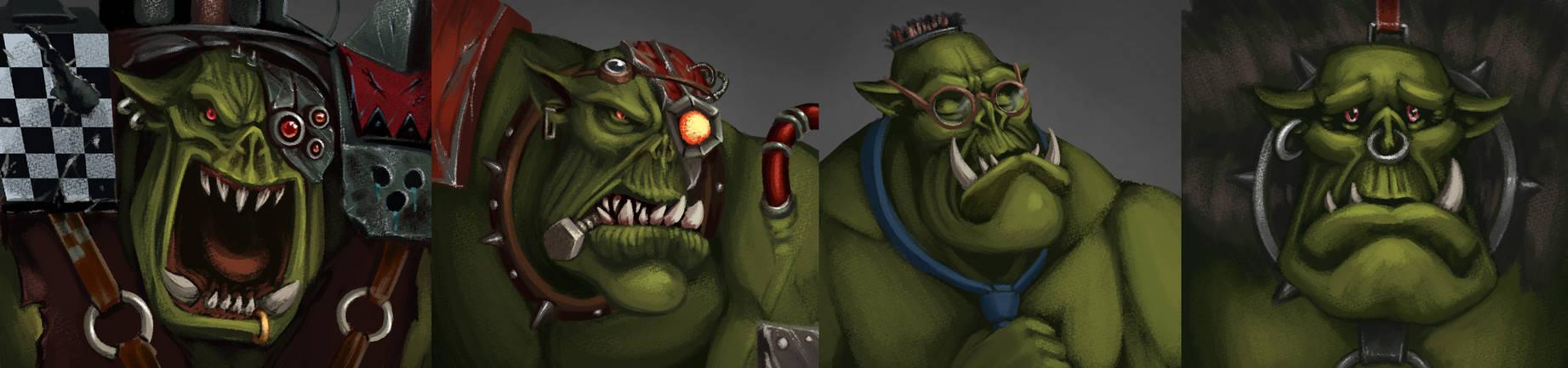 Ork portraits