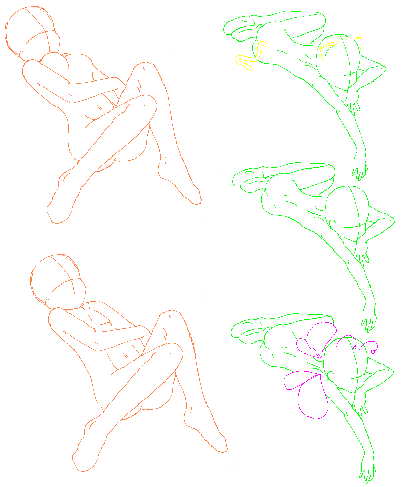 Laying Down Poses by StrangestOne on DeviantArt