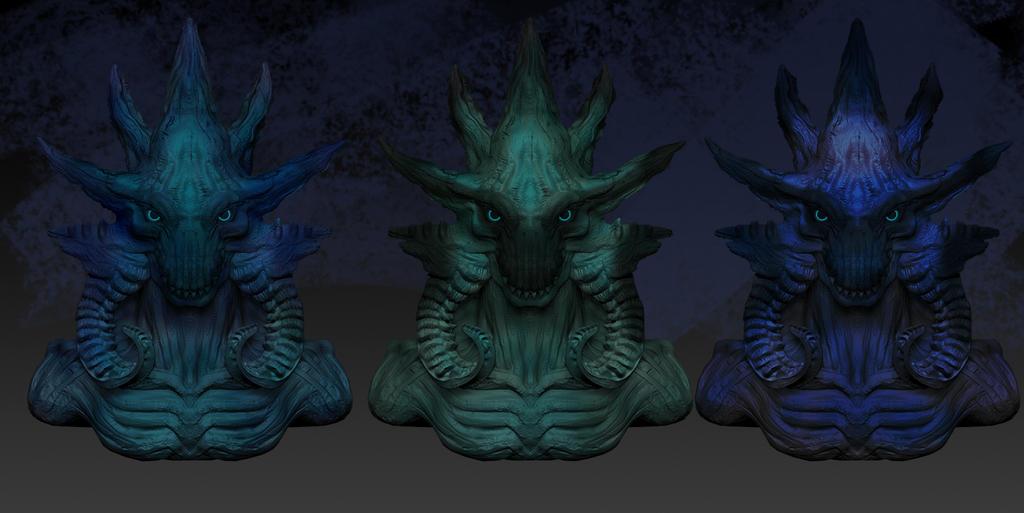 Alient Texture 3 by Felicus