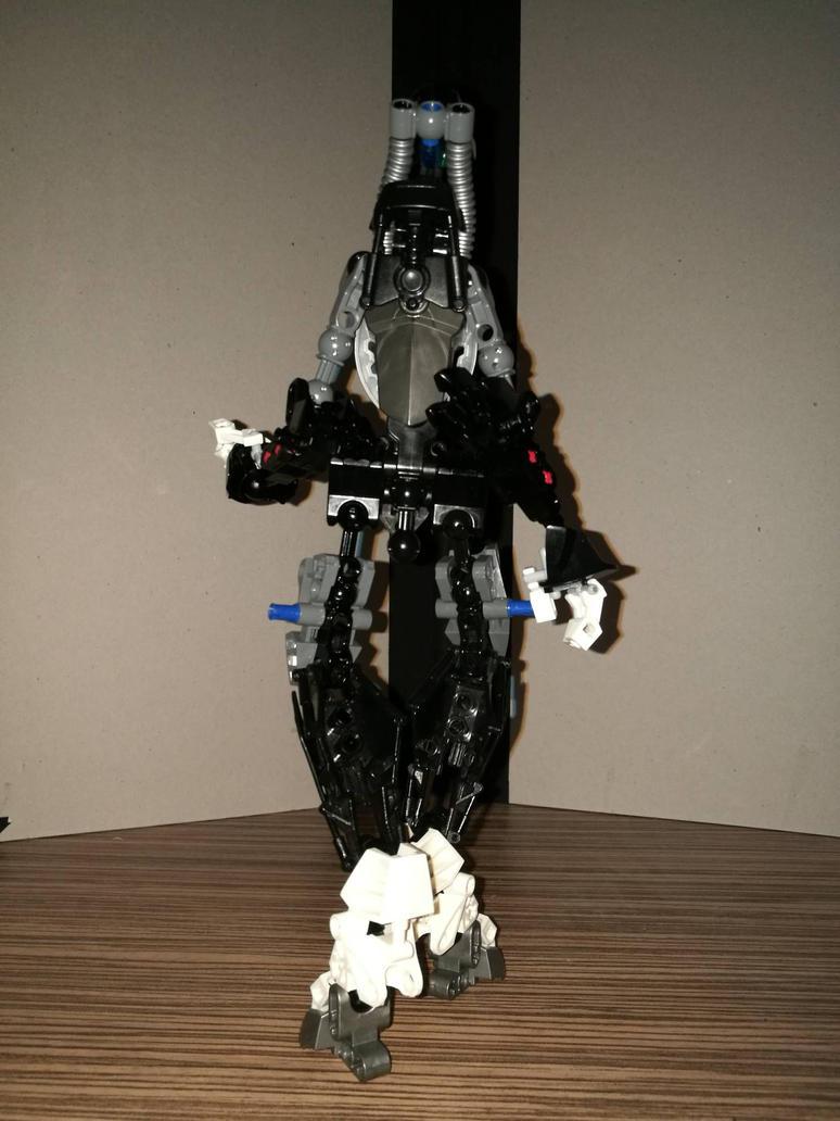 Bionicle MOC: Delvin  by Ennser